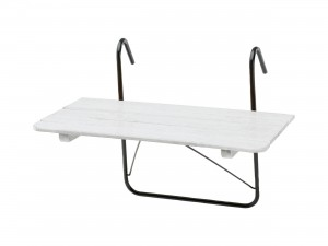 Balkongbord att hänga på balkongräcket
