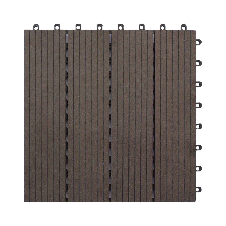 komposit trall till balkong eller uteplats