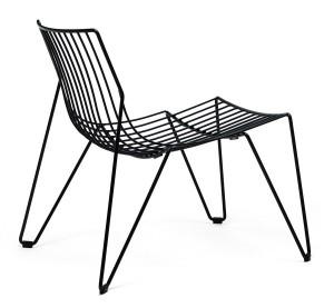 svart lounge stol