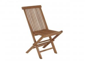 balkongstol fällbar i trä